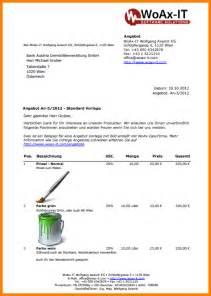 Angebot Vorlage Office 8 Angebotsschreiben Vorlagen Lesson Templated