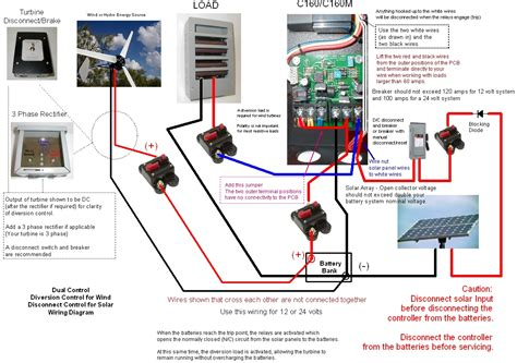 solar charge controller connection diagram wind turbine charge controller wiring diagram