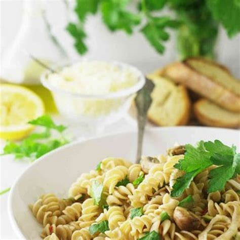 whole grain kamut recipes kamut whole grain pasta spirals with fennel and mushrooms