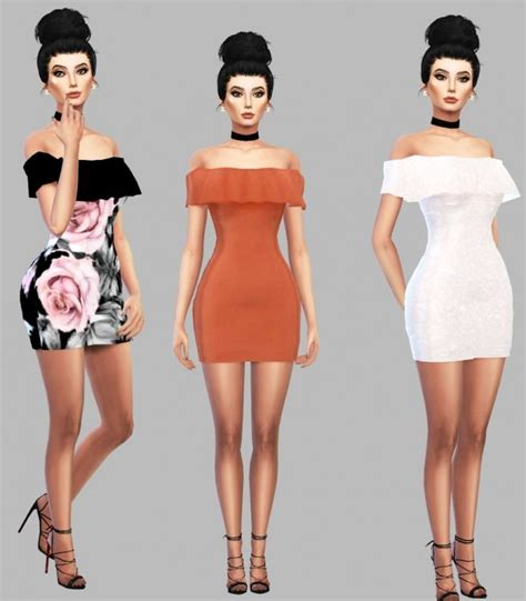 sims 4 custom content dresses best 25 sims 4 ideas on pinterest ts4 cc sims cc and