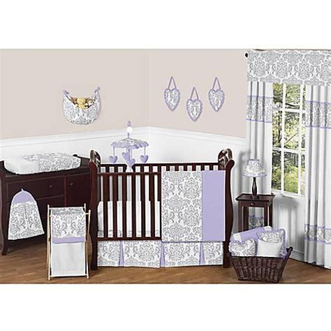 Sweet Jojo Designs Crib Bedding Sweet Jojo Designs Elizabeth Crib Bedding Collection In Lavender Grey Buybuy Baby