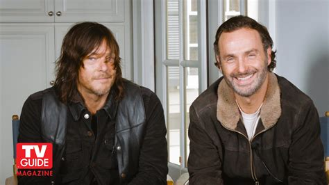 andrew lincoln tv shows the walking dead s andrew lincoln norman reedus