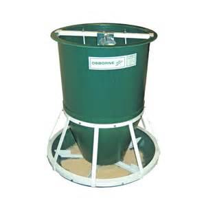 Feeders Supply Products Osborne Rf2 Big Wheel Finish Hog Feeder Qc Supply