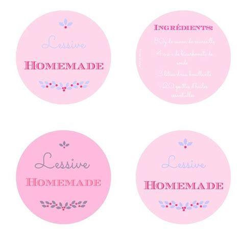 Recette Assouplissant Maison by Printable Lessive Etiquette Maison