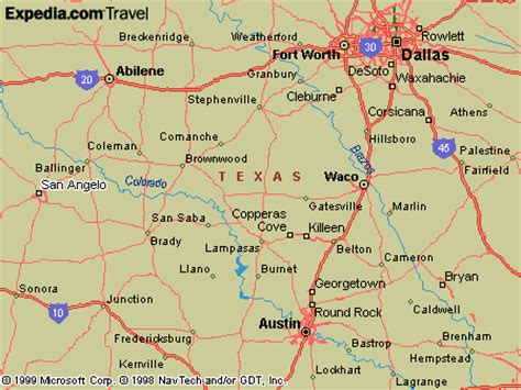 texas map san angelo cutler s cove map of san angelo and area