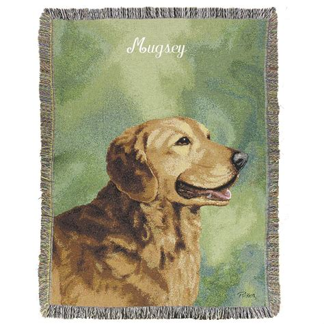 personalized golden retriever gifts a plus 174 personalized golden retriever throw 170872 personalized gifts at sportsman