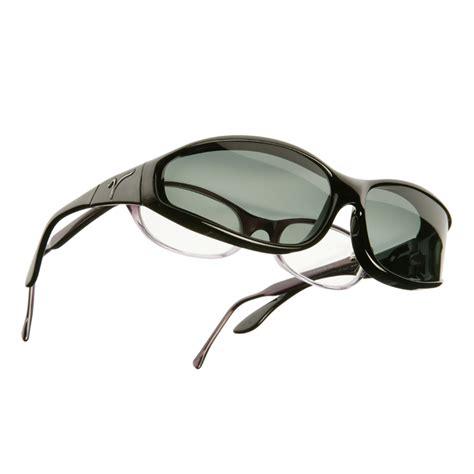 vistana small s black frame polarized gray lenses
