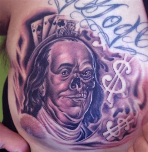 benjamin franklin tattoos rollin in the benjamins 6 awesome benjamin franklin