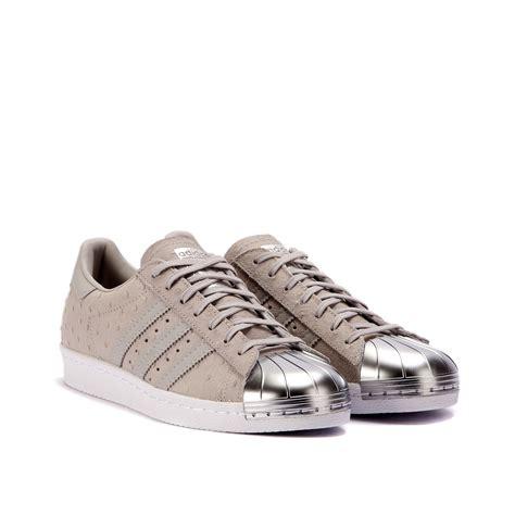 adidas superstar   metal toe grey