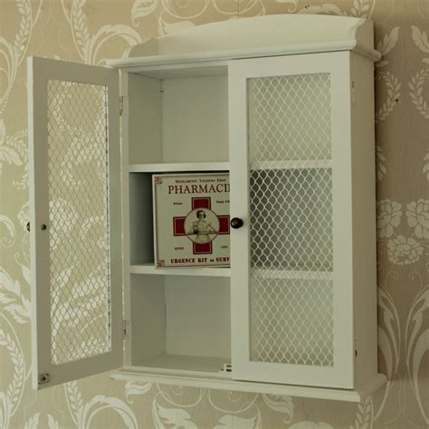 white wooden mirrored bathroom wall cabinet shabby vintage white wooden mesh wall cabinet shabby vintage style home