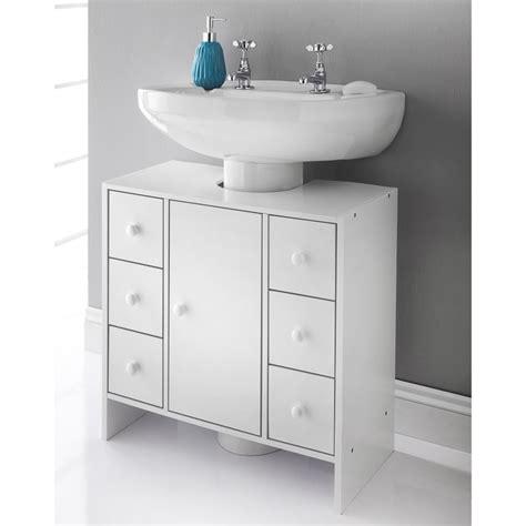 M S Bathroom Furniture Spaceways 6 Drawer Undersink Cabinet Bathroom Furniture B M