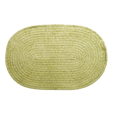 Oval Indoor Outdoor Rugs Colonial Mills Indoor Outdoor Rug Solid Chenille Oval 6x9 1723t Save 44