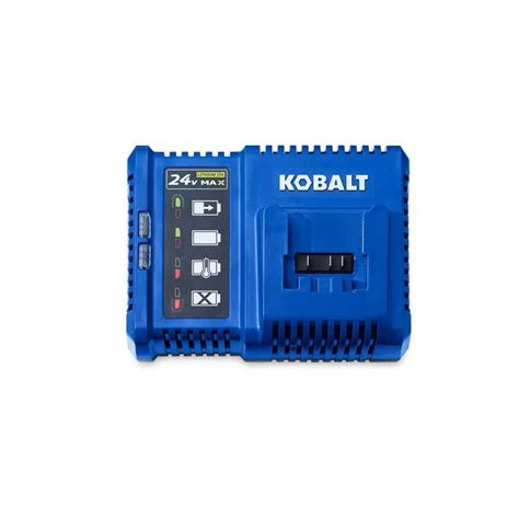 power charger battery shop kobalt 24 volt max power tool battery charger at
