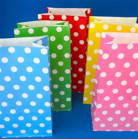 Paperbag Polkadot Tebal Ungu Summer Bags Parcels