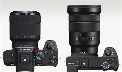 Lensa Sony E 18 105 sony a7ii vs sony a6300 a6500