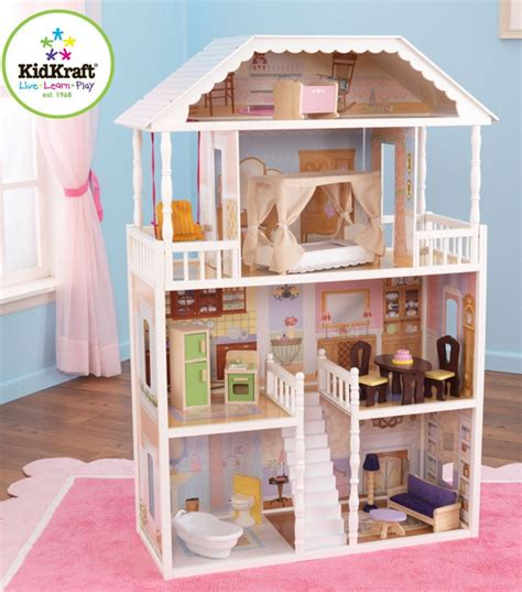 barbie doll houses on sale kidkraft savannah wooden doll house sale almost 50 off works with barbies
