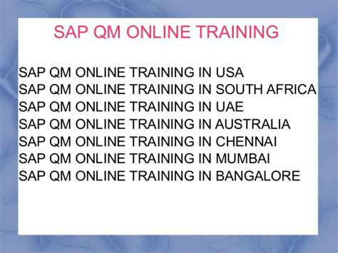 sap tutorial mumbai sap qm online training institute in saudi arabia