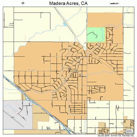 madera california map madera acres california map 0645050