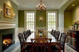 Green Dining Room by On The Drawing Board 5 Formal Dining Rooms