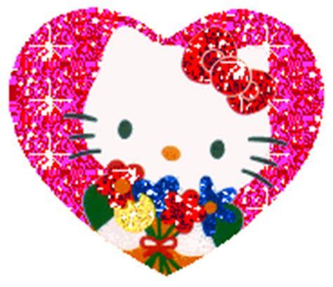imagenes que se muevan y brillen de corazones imagenes de hello kitty con movimiento