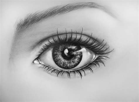 realistic eye realistic eye from how to draw a realistic eye instant lessons