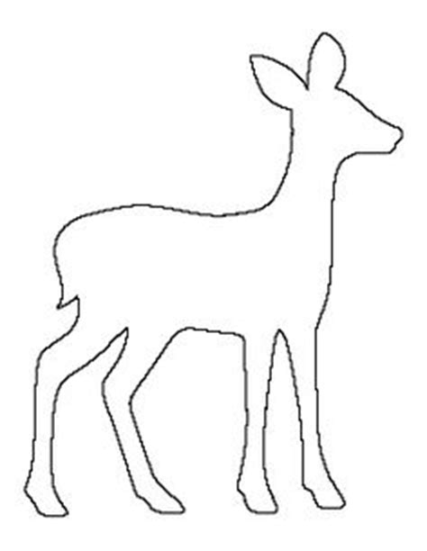 reindeer head pattern use the printable outline for sensational ideas deer outline head clipart free crafts