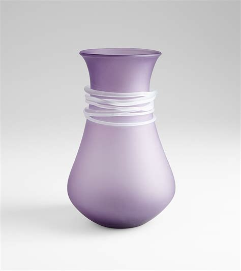 Purple Decorative Vases large purple vase by cyan design