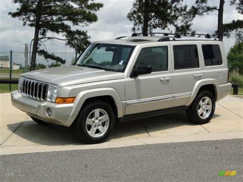 2010 jeep commander silver bright silver metallic 2008 jeep commander limited