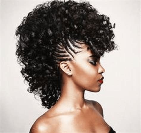 Mohawk Hairstyles With Curls by Jerry Curl Hairstyles For Black