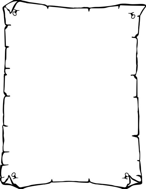 How To Make A Paper Border - 6 best images of printable paper border to shool free