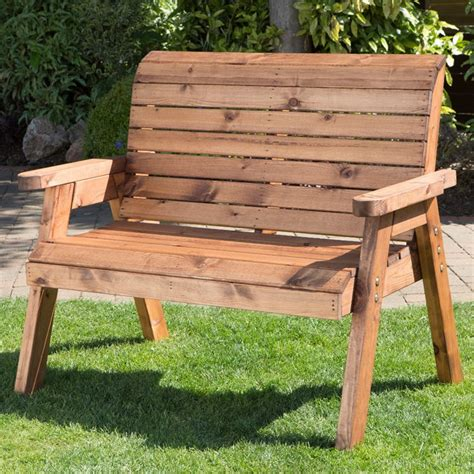 2 seater garden bench charles taylor classic 2 seater garden bench alison at home retail ltd