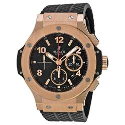 hublot big black black rubber s