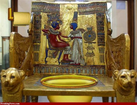 toilet in cing 1000 images about king tut artifacts on pinterest