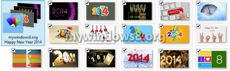 new year themes for windows 8 1 happy new year 2014 theme for windows 7 windows 8