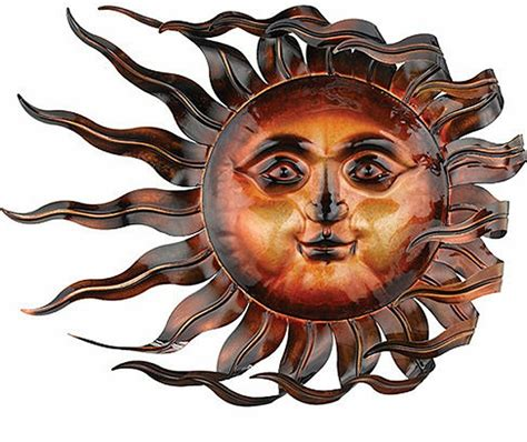 metal sun wall decor sunswept sun wall windswept wind blown indoor