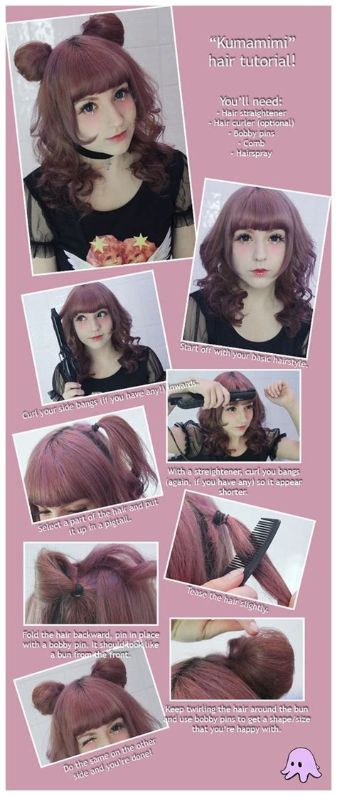 diy anime hairstyles kawaii hairstyle credits to the owner hairstyles
