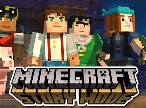 minecraft story mode telltale minecraft story mode trailer released video