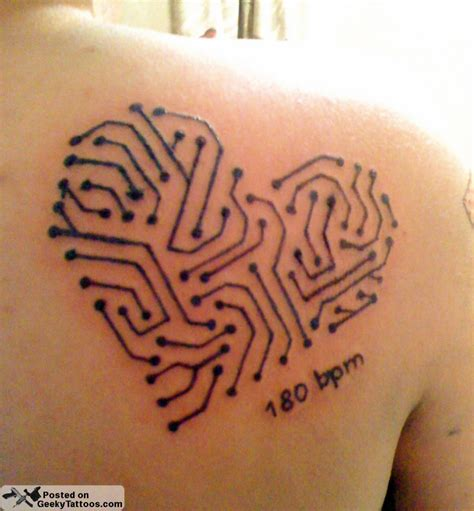 circuit tattoo circuit geeky tattoos