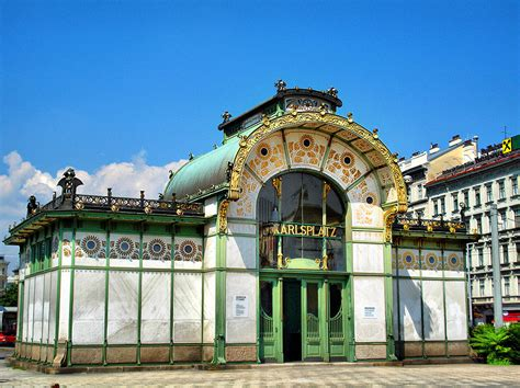 Opulent Definition The Life Nouveau Wagner S Stadtbahn Stations Vienna