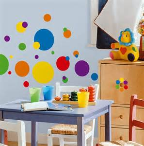 roommates wall stickers roommates rmk1248scs just dots primary colors peel amp stick