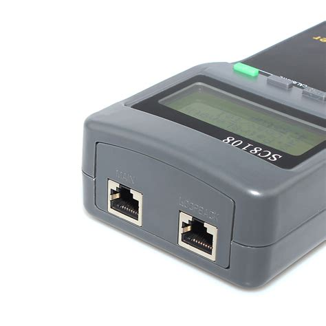 Cable Lan Cat5rj45 50 Meter Cross new network lan phone cable tester wire tracker cat 5e 6e