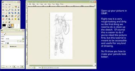 gimp lineart coloring tutorial 35 helpful gimp tutorials web graphic design bashooka