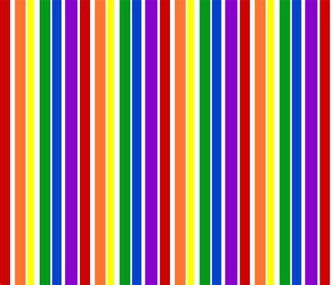 Rainbow Stripe rainbow stripes fabric joyfulrose spoonflower