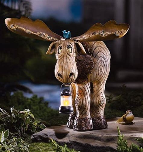 moose lawn ornament plans diy free build a router woodwork saying