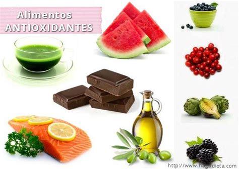 alimentos anti oxidantes alimentos con antioxidantes