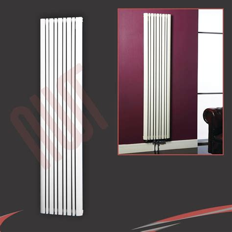 sectional radiators quot proteus quot white anthracite designer vertical