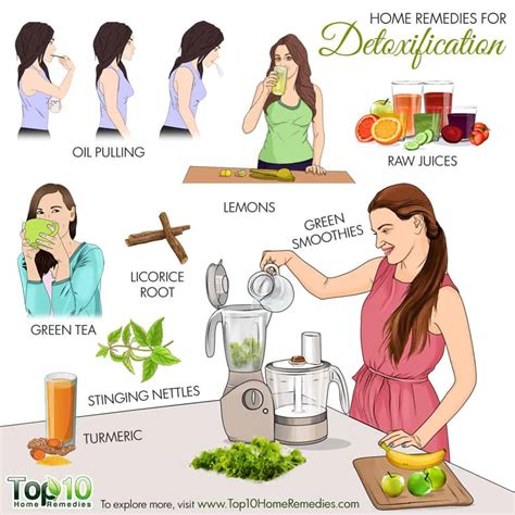 How To Detox Diet At Home by Home Remedies For Detoxification Top 10 Home Remedies
