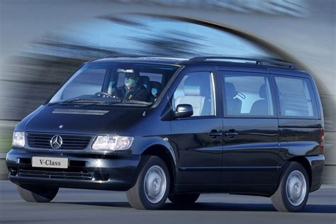 Used Mercedes Prices by Mercedes V Class Estate From 1996 Used Prices Parkers