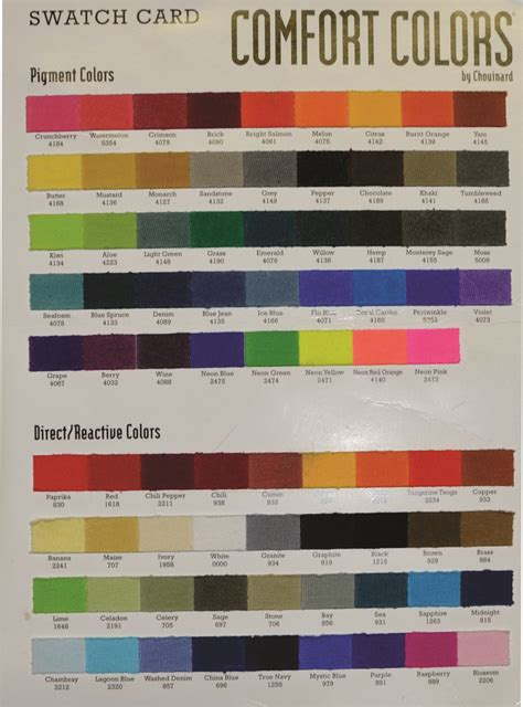 comfort colora comfort colors colors 28 images comfort colors vinyl