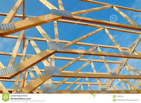 framing a house house framing stock photos image 15209163